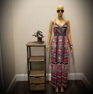 Charlotte Russe Maxi Dress (Multicolor)